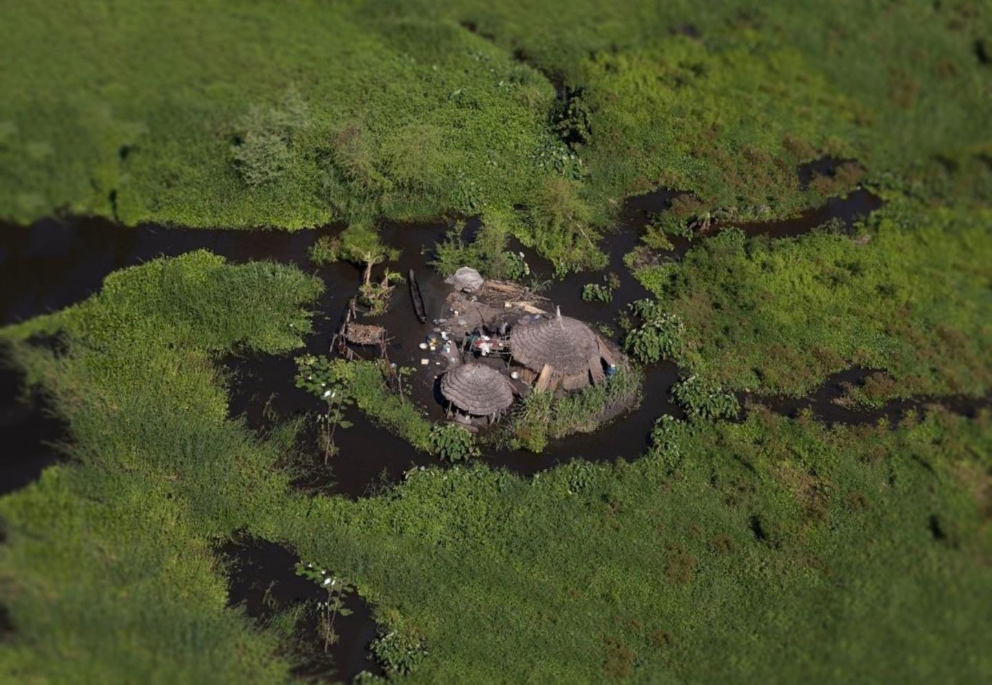 Гигантское болото Судд