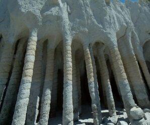 Необычные подземные колонны, которые обнаружили случайно, благодаря созданию водохранилища Кроули