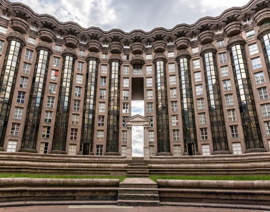 Les Espaces d'Abraxa от архитектора Рикардо Бофилла