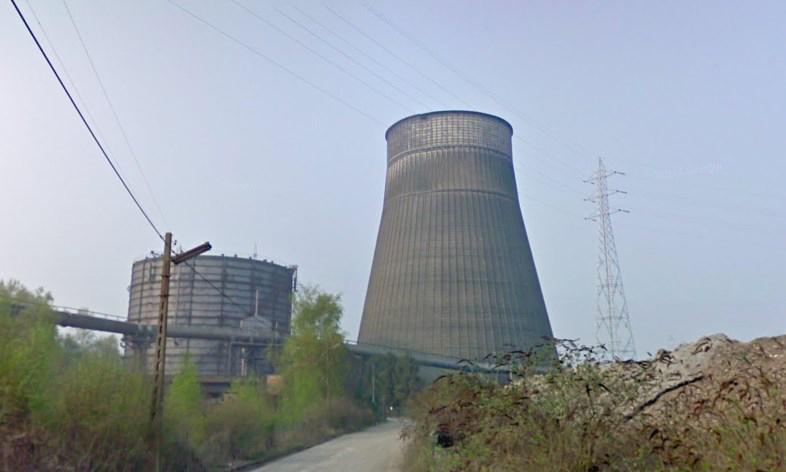 «Фабрика облаков» - заброшенная градирня в Бельгии