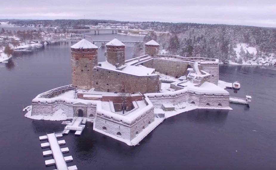 Самая северная средневековая крепость, которую построили для «сдерживания» Руси — Замок Олафсборг