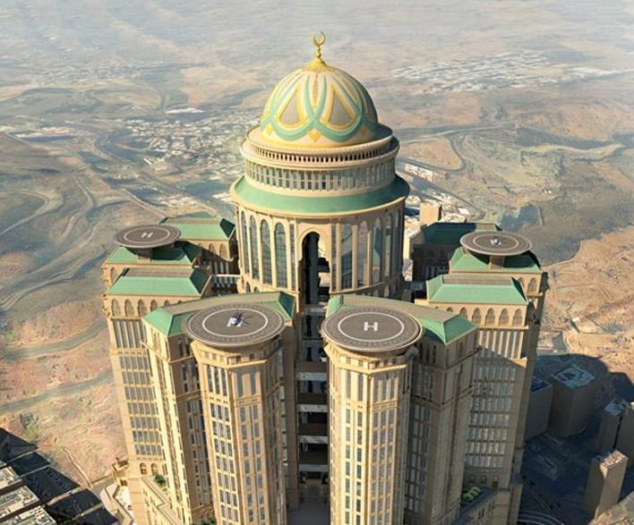 Строится самый гигантский отель в мире - Абрадж Кудай