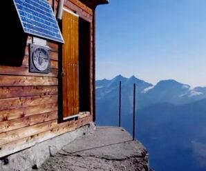 Когда за окном высота 4000 метров — домик над облаками на горе Маттерхорн