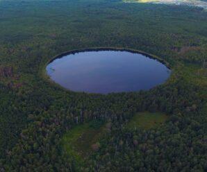 Мёртвое озеро возле Леонидовки в Пензенской области