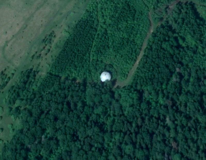 Между Москвой и Тверью в лесу находится огромный круглый шар