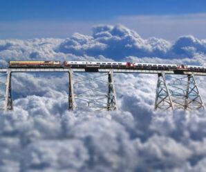 Железная дорога на высоте 4220 м. над уровнем моря — «Поезд в облака»