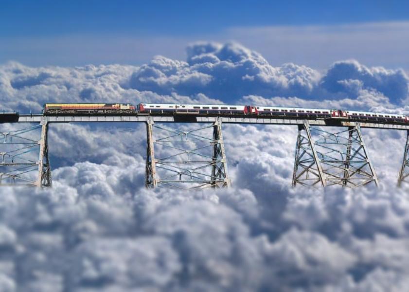 Железная дорога на высоте 4220 м. над уровнем моря - «Поезд в облака»