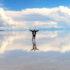 Здесь как будто стирается граница между небом и землёй — Уюни, крупнейший в мире солончак