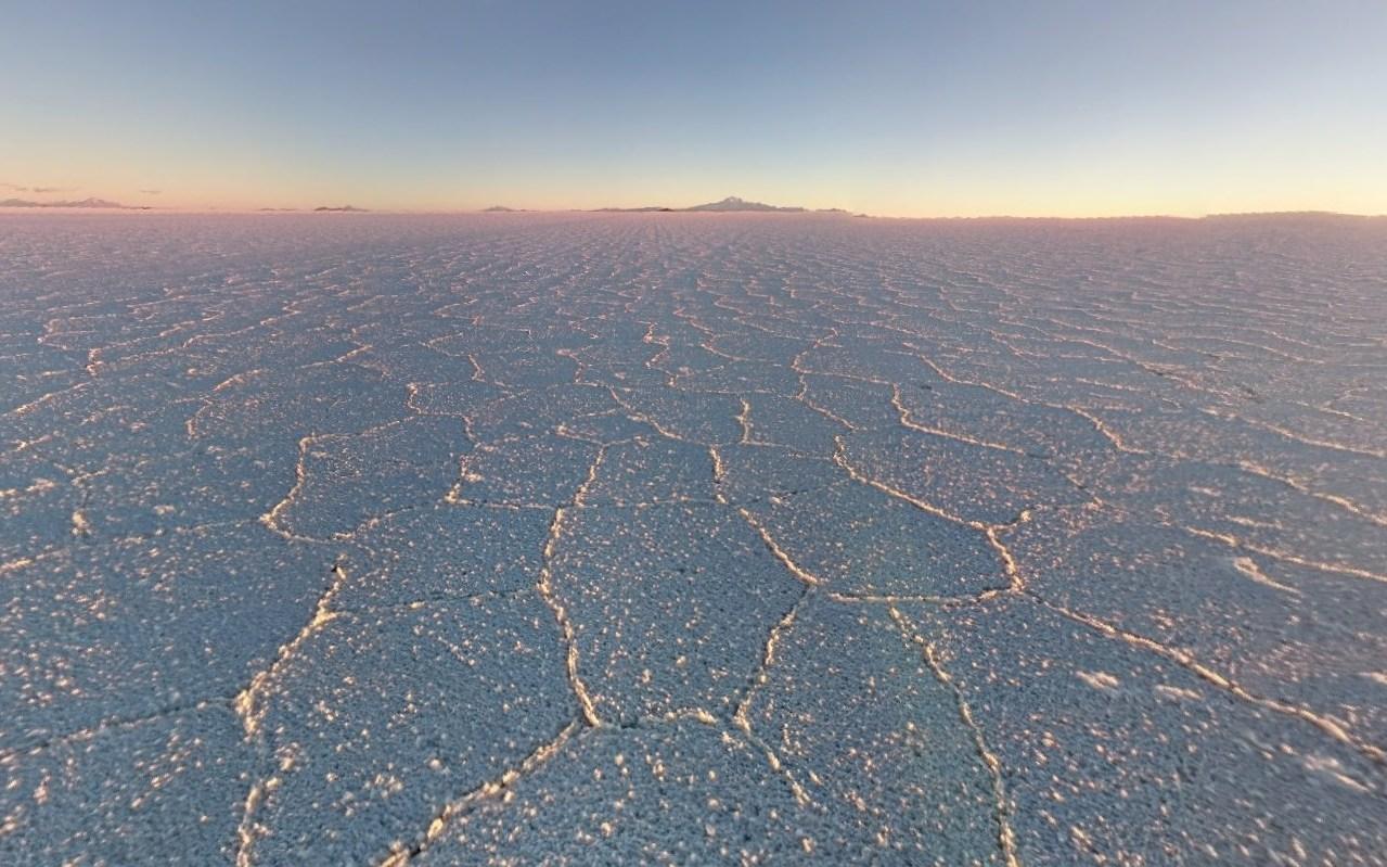 Уюни, крупнейший в мире солончак