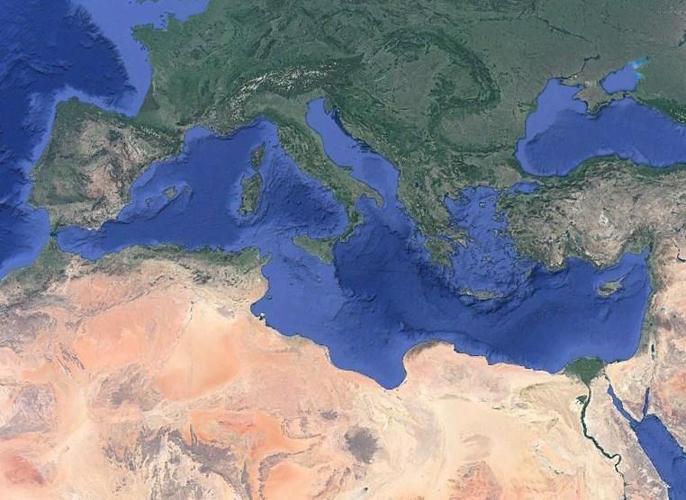 Когда пересохло Средиземное море - Мессинский пик солености
