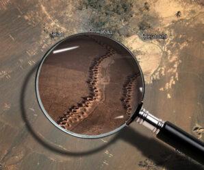 Этим отверстиям в пустыне 3000 лет. Для чего они нужны? Кяризы