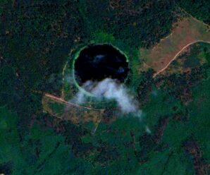 Кратер от метеорита в Подмосковье — тайны озера Смердячье