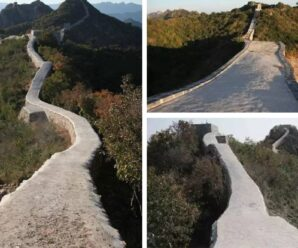 Как Великую Китайскую стену бетоном залили — курьёзы реставрации