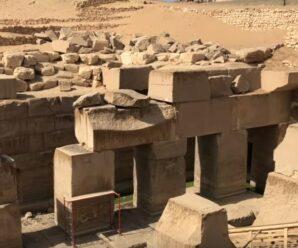 Когда археологи раскопали курган в Египте, то под землей обнаружили древний мегалитический храм Осирион