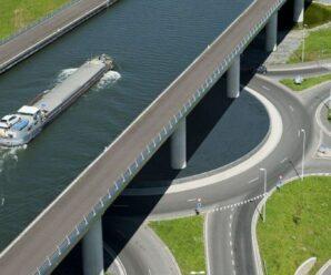 «Река» над дорогой: Сарт-канал — когда проще построить мост для воды