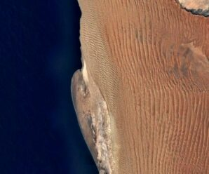Старейшая пустыня Земли, покрытая высокими и длинными дюнами — Намиб