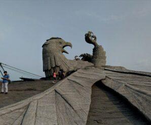 Кто и зачем построил самую огромную на планете скульптуру ястреба Джатаю