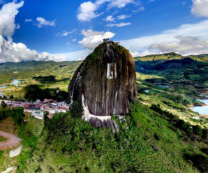 Один из самых огромных камней в мире — Эль Пеньон де Гуатапе