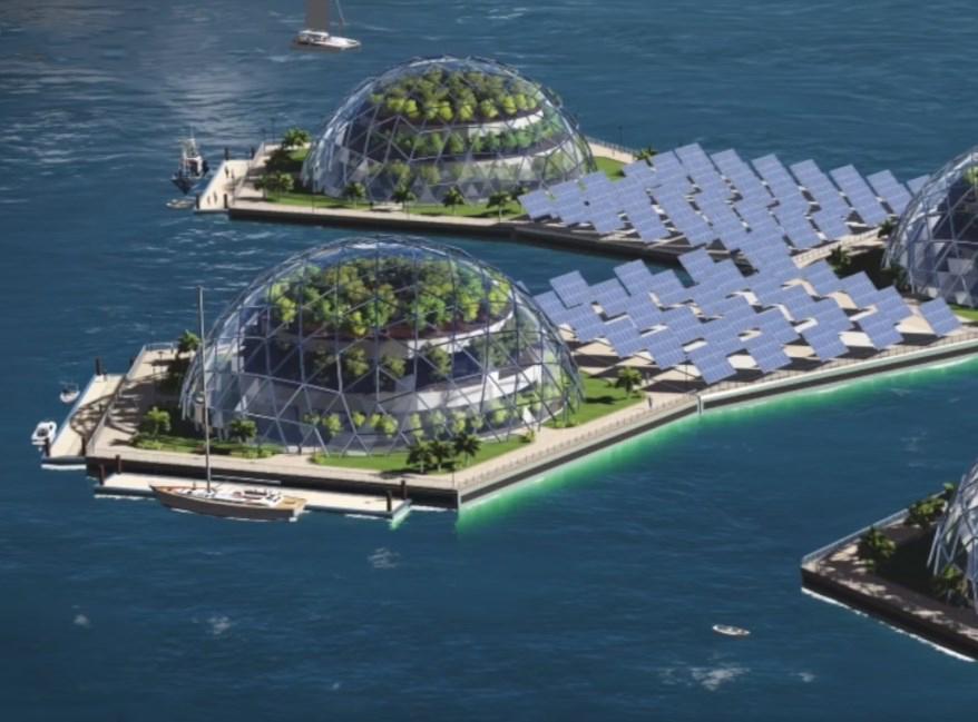 Город, который будет плавать в Тихом океане