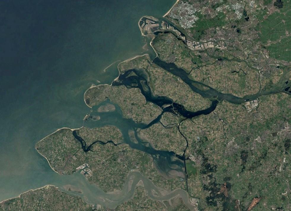 26% Голландии ниже уровня моря, но страна не уходит под воду - проект Deltawerken