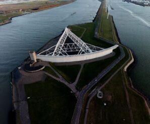 26% Голландии ниже уровня моря, но страна не уходит под воду — проект Deltawerken