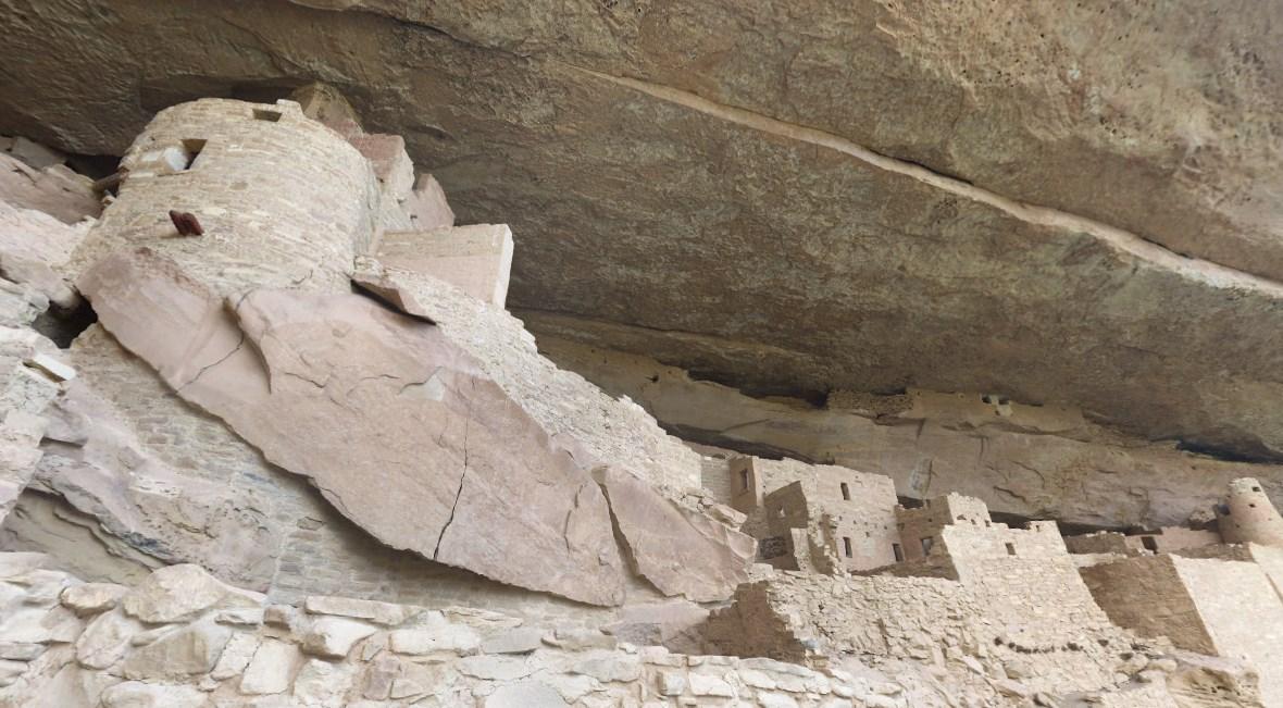 руины доисторической цивилизации анасази