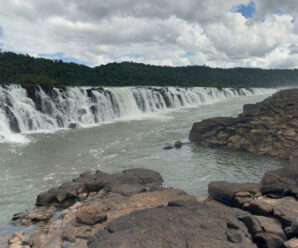 Самый широкий водопад на планете — Юкума