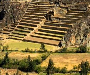 Похожие на гигантские ступени великанов — древние террасы инков для земледелия