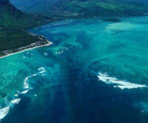 Подводный водопад у Маврикия — необычная природная иллюзия
