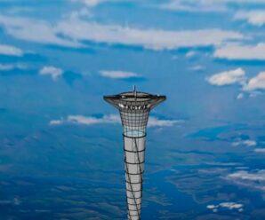 Лифт в космос — удивительный проект 20-километровой башни