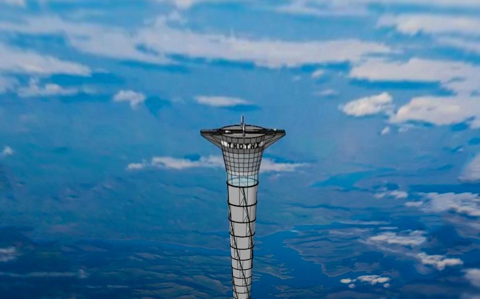 Лифт в космос - удивительный проект 20-километровой башни