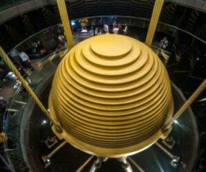 Зачем этот огромный шар в некоторых небоскрёбах — инерционный демпфер