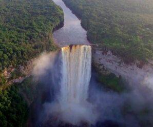 Скрытый от обычных путешественников водопад Кайетур