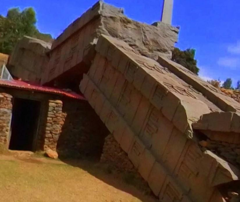 Африканские древние обелиски