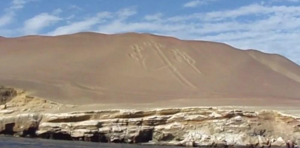 Гигантское изваяние доколумбовой цивилизации - Андский канделябр