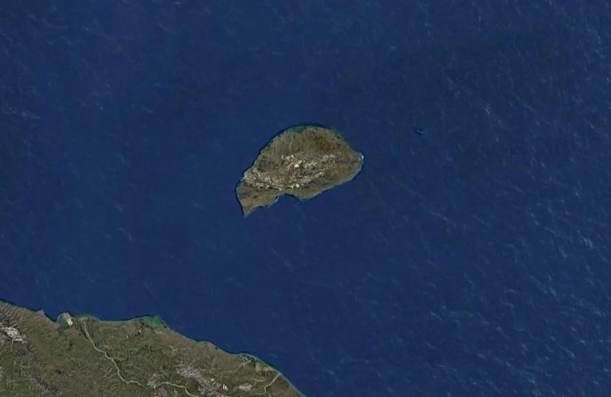 Остров Врангеля, вид со спутника