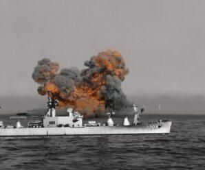 Воздействие на корабль взрыва 500 тонн тротила — эксперименты военных на острове Кахоолаве