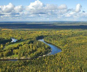 Васюган-море в Западной Сибири